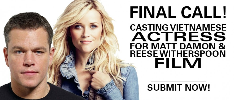 Casting Matt Damon & Reese Witherspoon Film